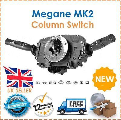Para Renault Megane MK2 Coupe Saloon VALEO Columna De Dirección Interruptor 8200216465