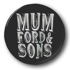 MUMFORD AND SONS LOGO - 1 inch / 25mm Button Badge - Babel I Will Wait Folk