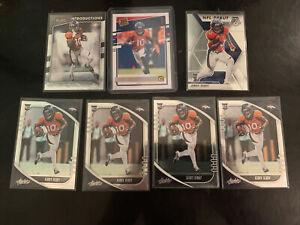Jerry Jeudy 7 Card Rookie Lot Broncos Wr🔥🔥🔥🔥