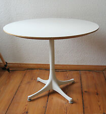 Herman Miller coffee table-George Nelson stand-Bianco Ø 70 cm