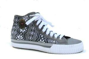 Nwob Pf Flyers Shoes Sneakers Lace Up Snowflake Low Top