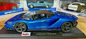 Lamborghini-Centenario-Maisto-1-18-Diecast-Metal-Modelo-Edicion-Especial-De-Coche-Nuevo