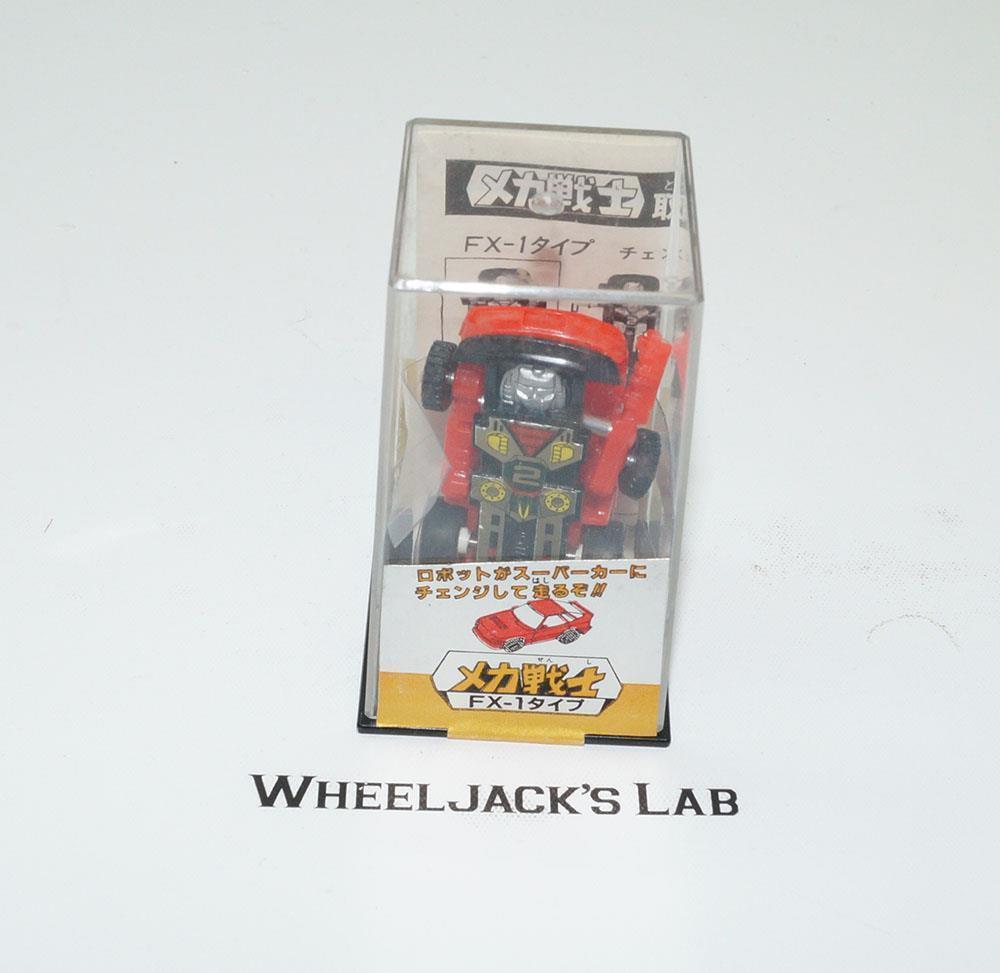 NEW Mecha Warriors Fx-1 Mini Mini Mini Spy Car Takara Transformers Diaclone 237034
