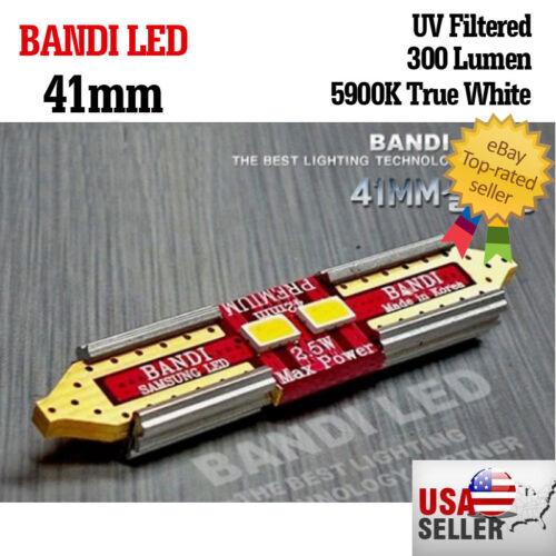 10X Bandi  41mm Car light  samsung LED 12V interior UVprotection  white bulb