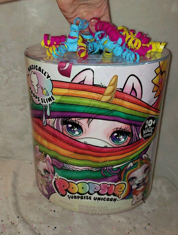 Poopsie Surprise Unicorn 20+ Magic Surprises  Poops Slime BRe nuovo SEALED MGA  protezione post-vendita