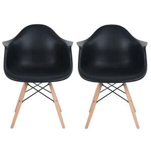 Lot-de-2-fauteuils-de-salle-a-manger-Inspire-Retro-Chaise-en-bois-de-hetre-Noir