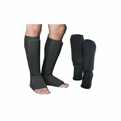 S White Shin /& Instep Guard MMA, Taekwondo, Karate, Martial Arts, Boxing