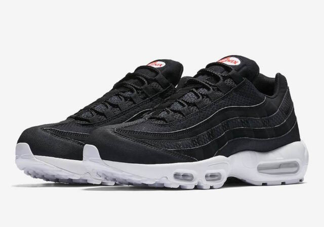 new product size 40 wholesale Nike Air Max 95 Premium SE SZ 10 Black White Team Orange 924478-001