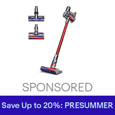 Dyson V6 Absolute HEPA Cordless Vacuum   Red   New