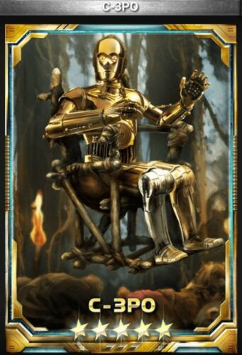 Star Wars Force Collection C-3PO 5 star base Guide to Obtain