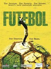 Futebol - 4 dvd box in seal , Brazil, Brazilië is voetbal