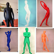 Full Body Lycra Unisex Spandex Skin Suit Catsuit Halloween Party Zentai Costumes