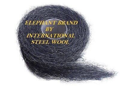 10 lb Case Steel Wool Rolls Grade #4 EXTRA COARSE