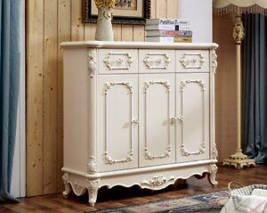 Details zu Antik Barock Stil Kommode Kommode Wohnzimmer Schlafzimmer Regal  Sideboard 901