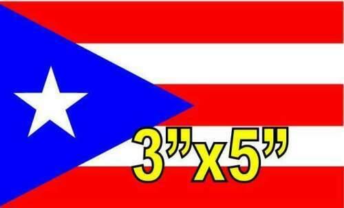 PUERTO RICO FLAG BANDERA BORICUA BANDERA PUERTO RICO PR STICKER DECAL