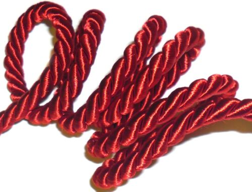 SILKY PIPING//EDGING ROPE ART R//100260 FREE P/&P 8MM CORD X2 MTRS CHOOSE COLOUR