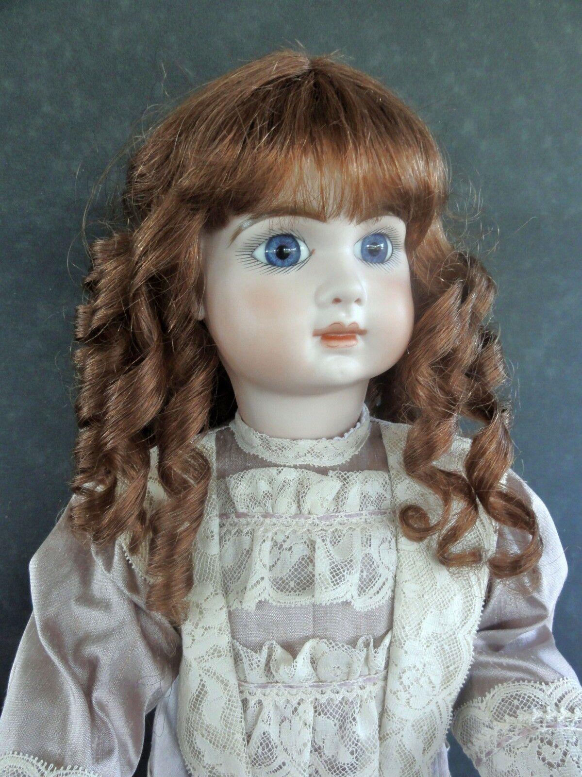 100% Huuomo Hair bambola WIG  19.5   (49.5 cm). lungo curly hair - G. BRAVOT - FRANCE  marchi di moda