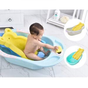 Newborn-Anti-slip-Soft-Sponge-Mat-Baby-Bath-Tub-Cushion-Pad-Infant-Shower-Care
