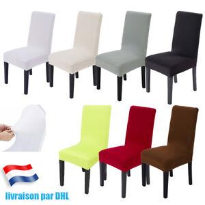 1-2-4-6x-Housse-de-Chaise-elastique-Extensible-Salle-a-manger-Fete-Mariage-Soire