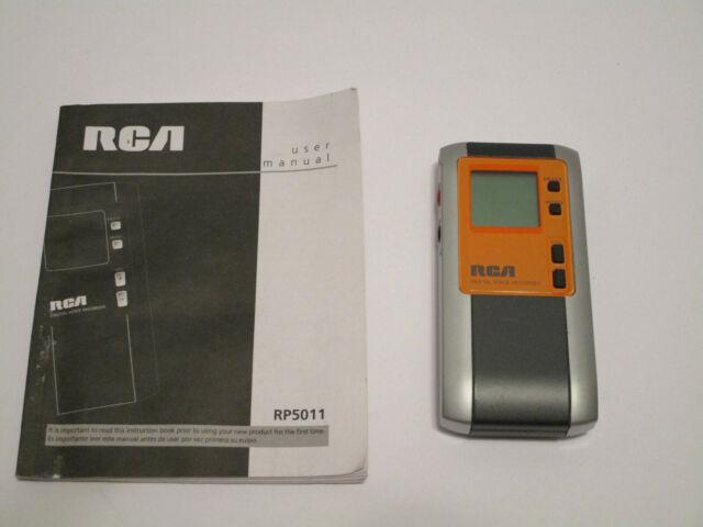 RCA Digital Voice Recorder Handheld Rp5011 Super