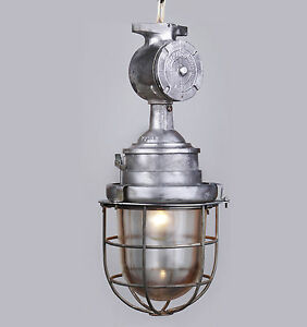 Industrielampe Bunkerlampe Kellerlampe Loft Fabriklampe Industrial LAMP WAND
