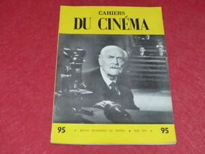 REVUE-LES-CAHIERS-DU-CINEMA-N-95-MAI-1959-MIZOGUCHI-EO-1rst-Print