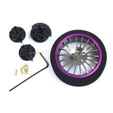 Yeah Racing Alum. Transmitter Steering Wheel PP 18-Spoke 1:10 RC Car #YA-0262PP