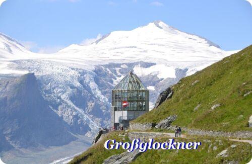 Magnetschild,Souvenir,Reise Kühlschrankmagnet -Motiv:Großglockner II