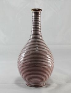 Beautiful Ceramic Art Pottery Bud Vase Jug Marked