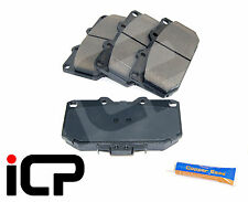 Front 4 Pot Brake Pads With Shims & Grease Fits: Nissan Skyline R33 2.5 GTS-T RB