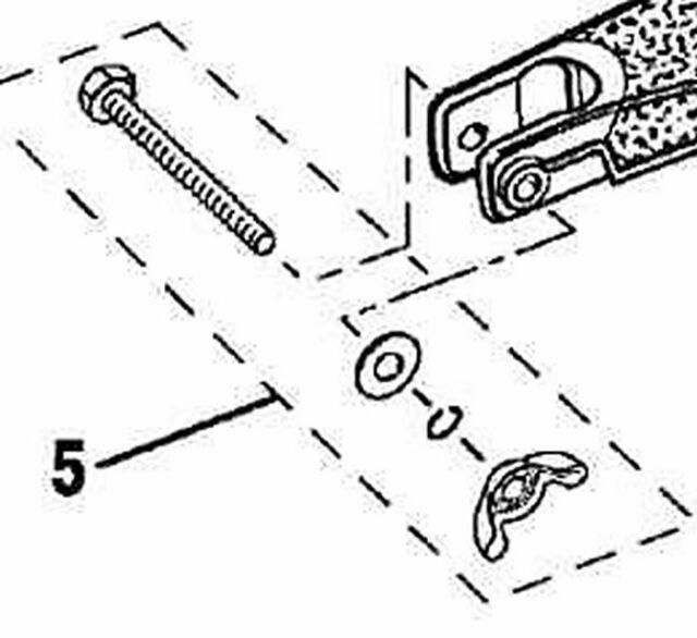 Fastener Kit Ryobi Trimmer Part Pa00249 120650001