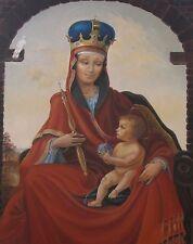 8X10 PRINT OF PAINTING RYTA EASTER MARY JESUS ICON ANTIQUE STYLE CATOLIC XMAS