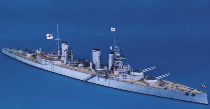 "Kortmodellllerl Kit ""järnvägly 5533;C HMS Lion """
