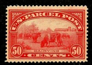 FC-US-Q10-Mint-LH-039-GEM-039-1913-50c-PARCEL-POST-Free-Shipping