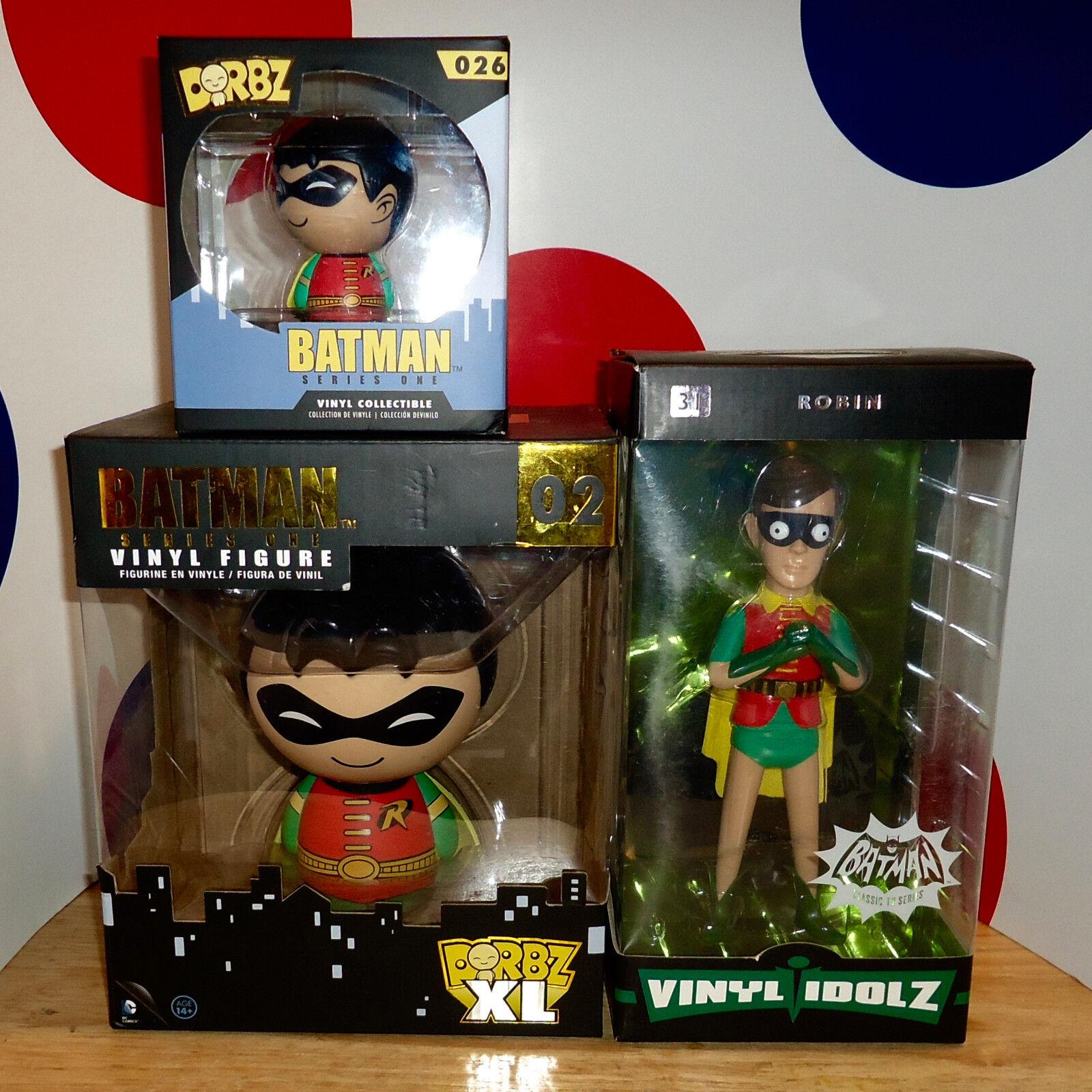 ROBIN THE BOY WONDER 3 VINYL FIGURE/IDOLZ VINYL SUGAR/WB Series 1 BATMAN DORBZ