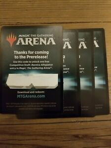Details about MTG Arena Ravnica Allegiance Prerelease Competitive Draft Code