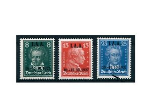 Empire-Allemand-Mi-n-407-409-Neuf