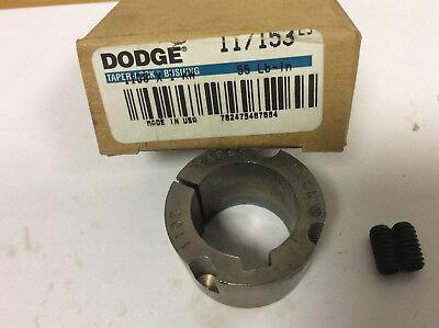 NEW DODGE TAPER LOCK BUSHING 1108 X 1 KW 117153