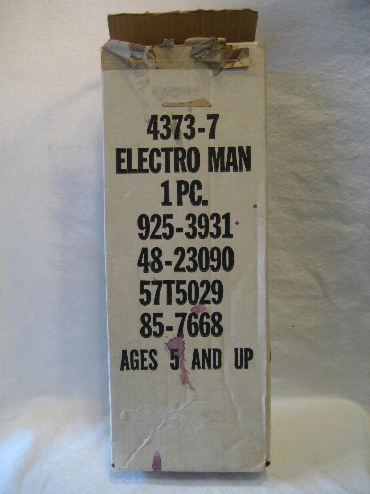 1977 vintage Ideal ELECTROMAN doll 16  Electro-Man figure figure figure toy w RARE mailer BOX c70791