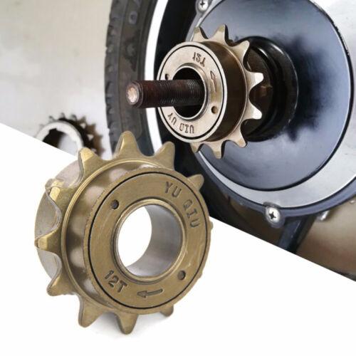 12T Teeth 34mm Single Speed Bicycle Freewheel Flywheel Sprocket Gear Steel Bike