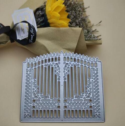 Tür Metall Cutting Dies Stencil DIY Scrapbooking  Stanzschablone Karten Handwerk