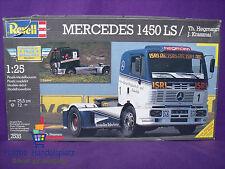 Revell ® 7535 Mercedes Benz 1450 LS / Th. Hegmann J. Krasznai 1:25