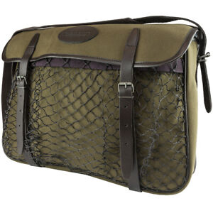 Jack Pyke Canvas Game Game Bag Green Cotton Leather Country Hunting//Shooting