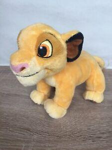 THE-Disney-Store-Re-Leone-Simba-Bean-Bag-Peluche-Giocattolo-morbido