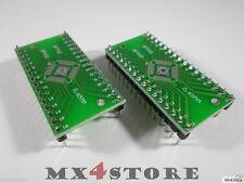 2x QFN32 VQFN32 QFP32 LQFP32 TQFP32 VQFP32 HQFP32 MQFP32  zu DIP32 DIL32 Adapter
