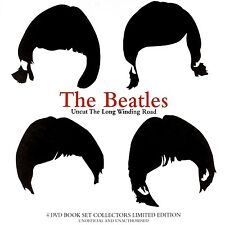 THE BEATLES - Uncut: The Long And Winding Road  (4-DVD+Book) BOXDVD