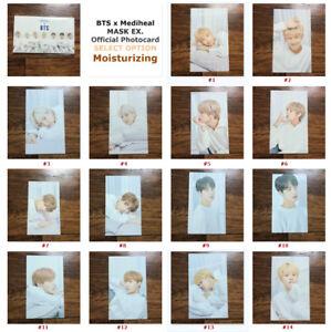 BTS-x-MEDIHEAL-Mask-Official-Photocard-Bangtan-Boys-Special-Card-MOISTURIZING