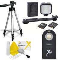 50 Vivitar Tripod + 36 Light Led +ir Remote For Nikon D3100 D3300 D5000 D5100
