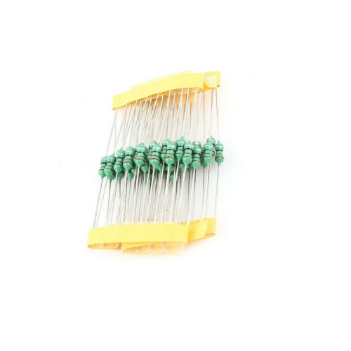 50PCS 0410 Color Ring Inductance 47uH 470K 1//2W Axial RF Choke Coil Inductor