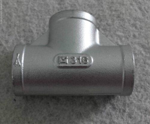 """clasificado 150 lb approx. 68.04 kg Cola De Manguera De Acero Inoxidable 316 BSP-de 1//8/"""" a 4/"""""""